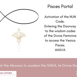 Blessings on this Solar Portal of Pisces