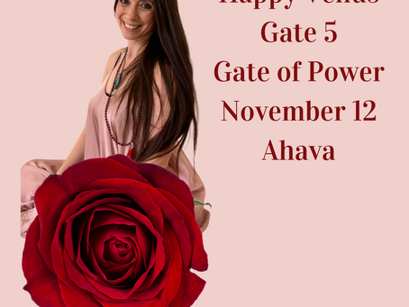 Venus Gate 5. Gate of Personal Power