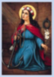 St. Philomena, there is a funny story about tis image and why it is dear to me!
