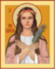 St. Philomena, patroness of FiLumena Birth