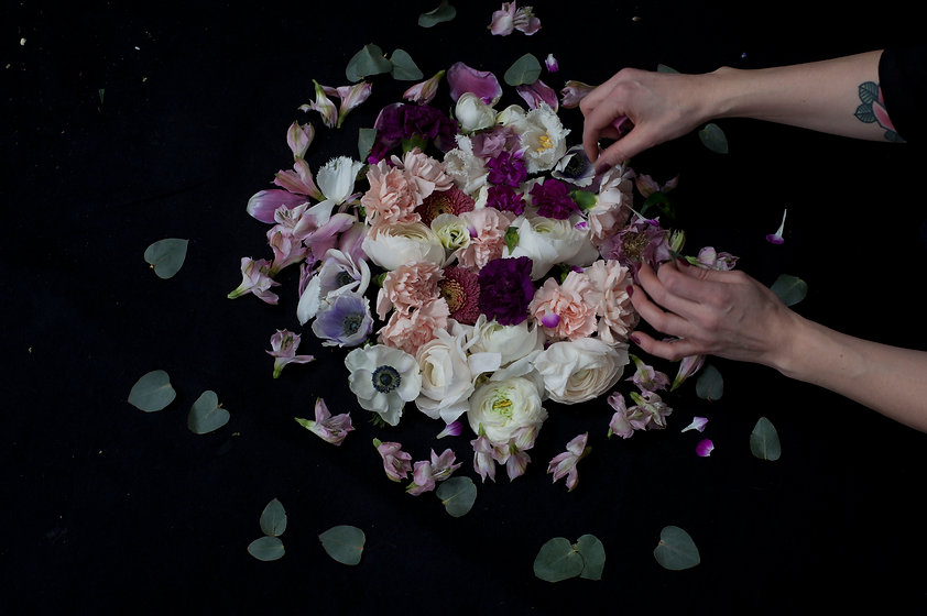 Floral designer Pia Dahlin