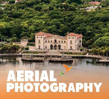 Miami Plane Tours and Helicopter Rides  offers Aeral Photography