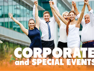 Celebrate Corporate and Special Events in the Air