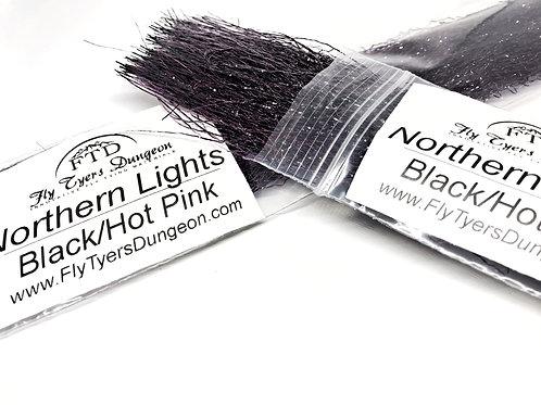 Northern Lights - Black/Hot Pink