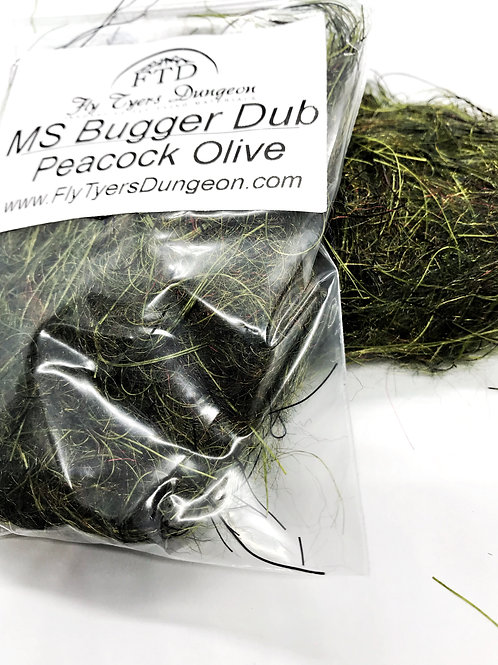 MS Bugger Dub - Peacock Olive