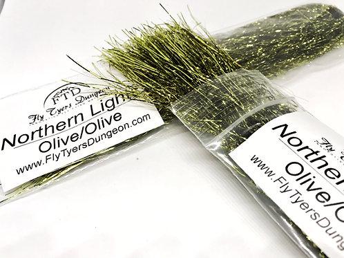 Northern Lights - Olive/Olive
