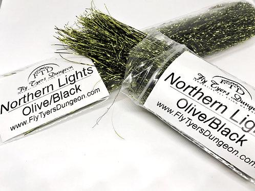 Northern Lights - Olive/Black