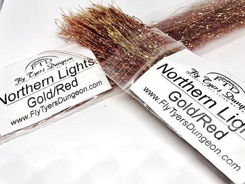 Northern Lights - Gold/Red