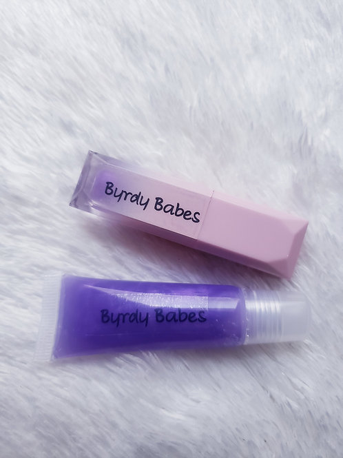 Purple Honeycreeper Lip Gloss
