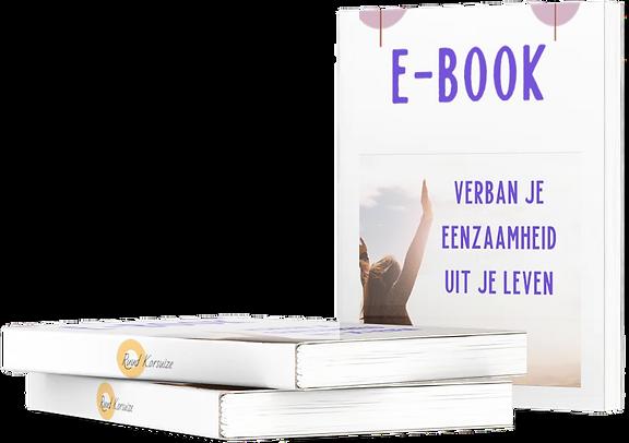E- book Verban je Eenzaamheid uit je leven