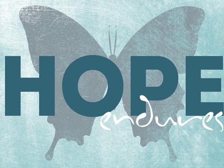 De hoop blijft er altijd, ondanks alles.