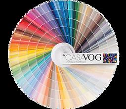 La palette de couleurs Casavog'