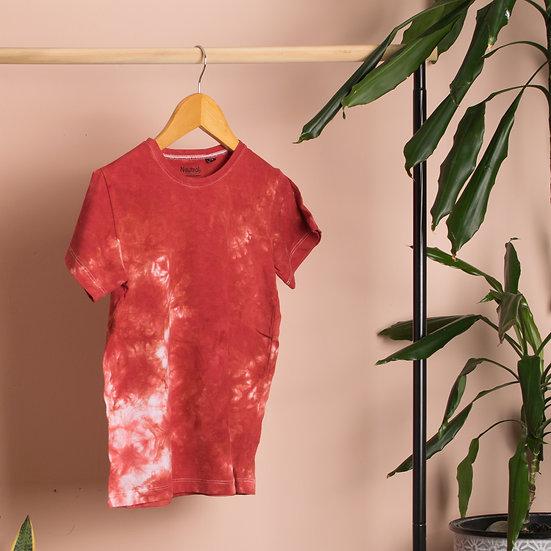 Red Tie Dye T-Shirt 1552