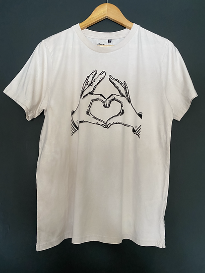 Walnut 'Love' Tee - Small Adults
