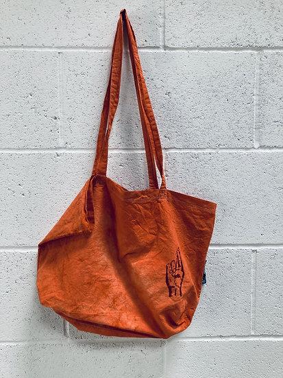 Rust 'Hope' Tote Bag