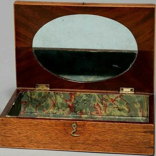 Victorian mahogany artists box