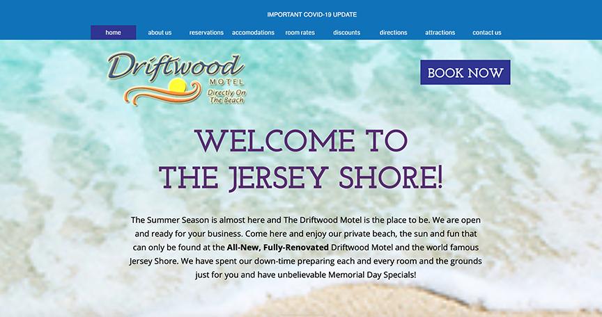 Driftwood Motel Website
