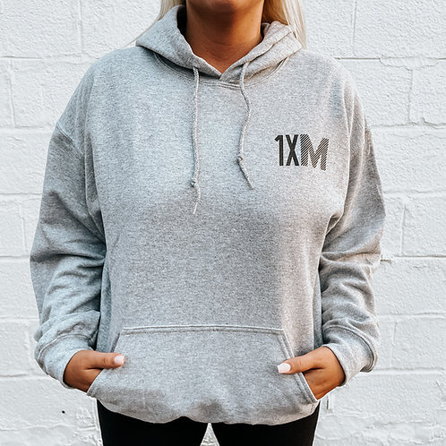 'One More Time' Hoodie GRAY