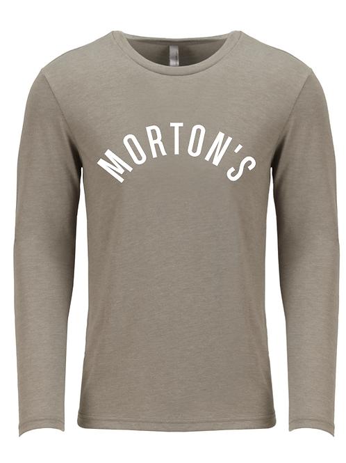 Morton's Gray Long Sleeve Tee PRE-ORDER