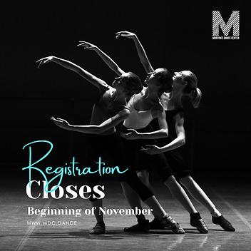 Blue Dark Ballet Lesson Dance Academy Promotion Instagram Post.png