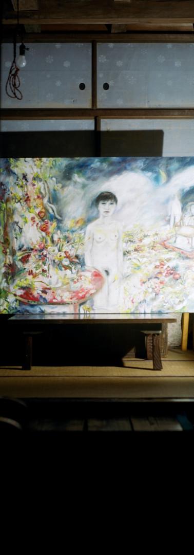 Painting Shinobu Hanazawa