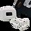Thumbnail: Air3 Pro Bluetooth 5.0 TWS i58 Wireless Earbuds- White