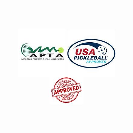 APTA & USA Pickleball Approved