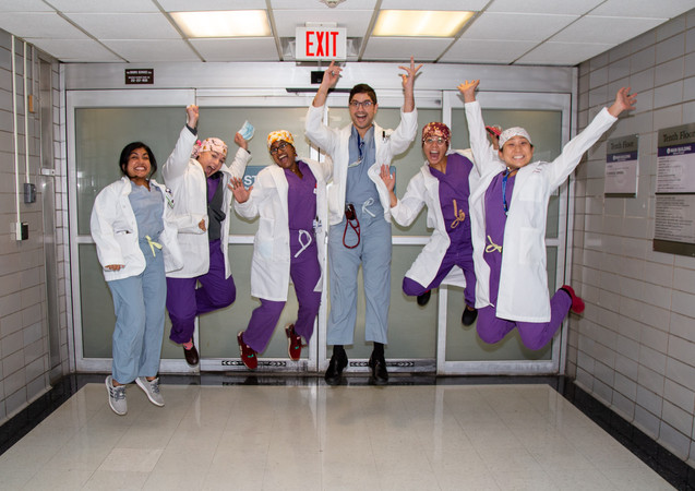 Surgery residents 2020