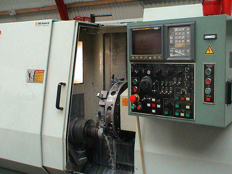 Topper TNL-AT2 Horizontal CNC lathe & Automatic loader