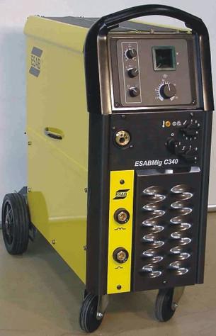 Origo Mig C340 PRO step-regulated compact power source