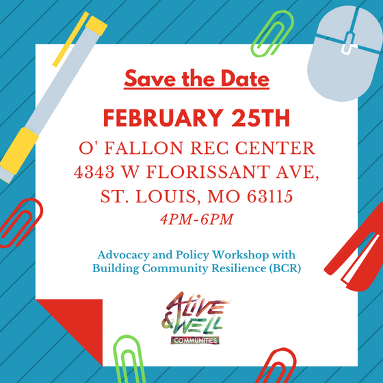 Advocacy and Policy Workshop with Building Community Resilience