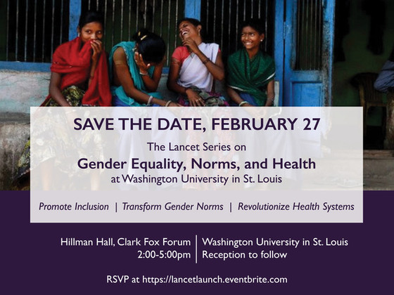 Gender Equality, Norms and Health