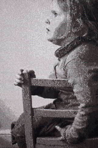Young Girl Seated Detail 001