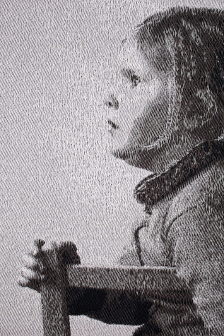 Young Girl Seated Detail 002