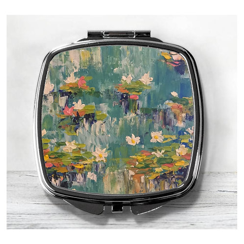 Monet Style Compact Mirror.