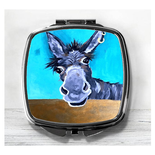 Doreen the Donkey, Compact Mirror.