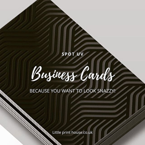 Highlight your business cards with a lit