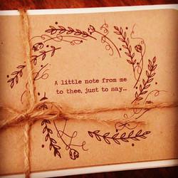 Love a gorgeous little note #thankyou #weddingplanning #weddingstationery #livingnorthweddings #gett