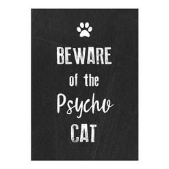 Printed Metal sign Cat.jpg