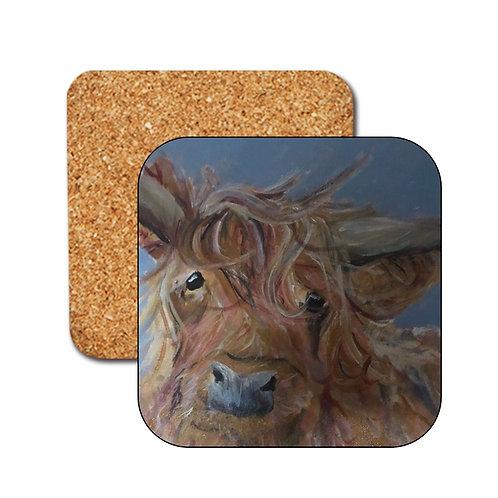 Sandra The Cow Coasters