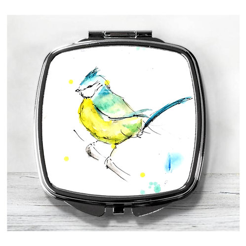 Sweet Little Bird, Compact Mirror.