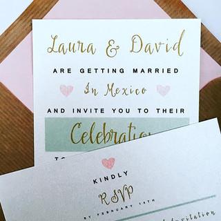 #weddinginvitations #pastelwedding #invi