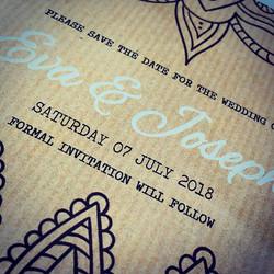 New designs underway #weddingstationery #wedding #weddinghour #weddinginvitation #savethedate #weddi