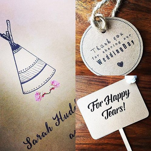 Quirky notices and finishing touches
