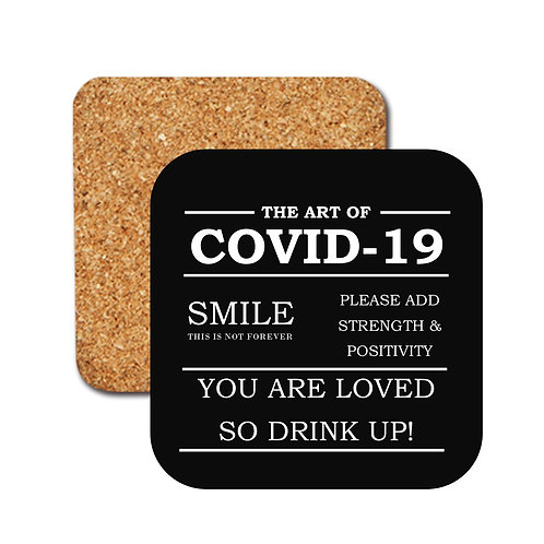 Covid 19 Positivity Coasters