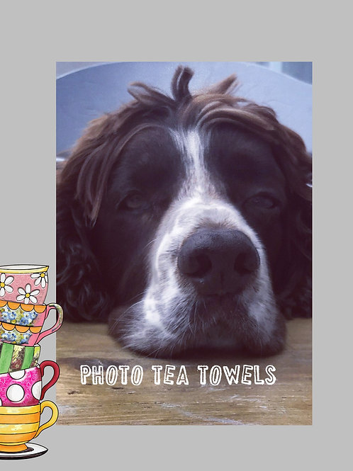 Photo Tea Towel