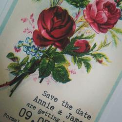#vintageweddings #vintagerose #savethedate #weddingday #pearls #victorianrose #oldpostcard #weddingp