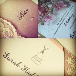 #weddingplanning #wedding #stationery #weddinginvitations #tipiwedding #tipi #vintagewedding #rustic