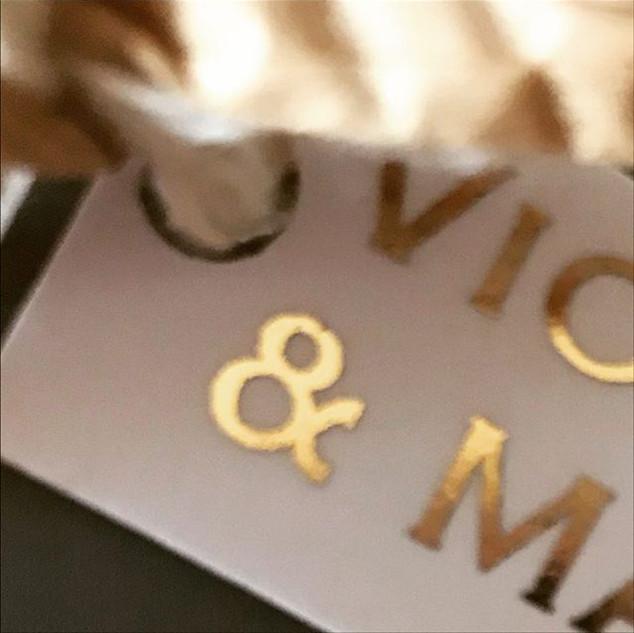 Yes #ido ! #weddingstationery #goldfoil.