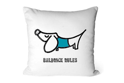 Sausage Dog Personalised cushion